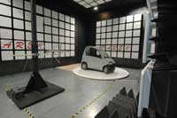 Immunity Measurement of an electrical vehicle in the anechoic chamber