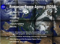 ROSA Romanian Space Policy Five Pillars