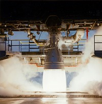 Aerojet Rocket Engine Stand Tested with Pacific Series 6000 DAS