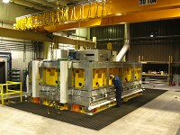 Cuboid Furnace handles loads up to 60000 lbs (27000 kgs)
