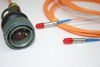 AVoptics makes Fiber Optic harnesses with most avionic cables and termini held in stock