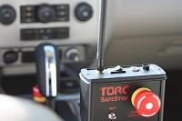 TORC SafeStop wireless emergency stop sytem for unmanned vehicles