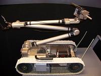 AutonoNav-Mini, compact autonomous navigation payload, on Packbot MK1