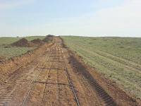 buried security fencing