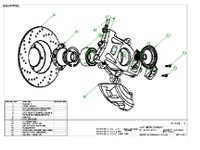 Formula Ford Upright Assembly