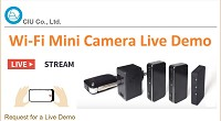 WiFi Direct Mini Camera