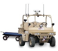 Tele-operated UGV