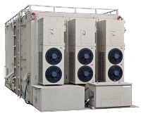 Kinetics ECU 36BTU Installed on Shelter