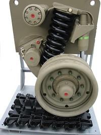 Suspension Mechanism, Track & Wheels