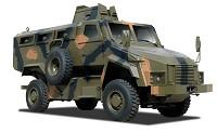 BMC MRAP Vehicle
