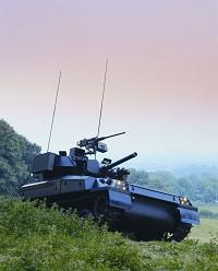 Repaircraft PLC LEU Upgraded Scorpion Tank