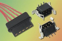 2 mm pitch low frequency connectors