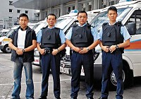 Body Armour for Hong Kong Police
