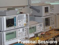 Some of the test and measurement equipment used in the courses