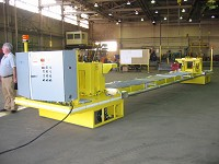 Self propelling material handling solution
