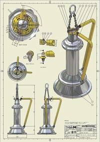 Tooling Ariane Rocketengine